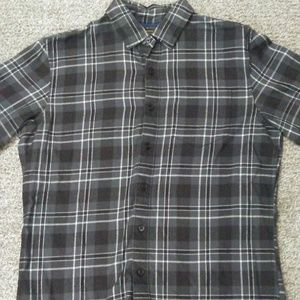 Apt. 9 Men's Black and Grey Soft Touch Flannel S